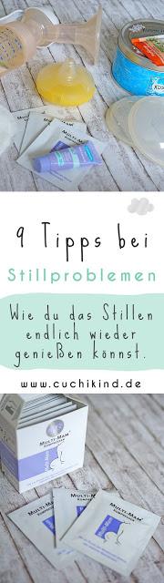 9 Tipps bei Stillproblemen - Wie du das Stillen endlich wieder genießen kannst - www.cuchikind.de Pinterest