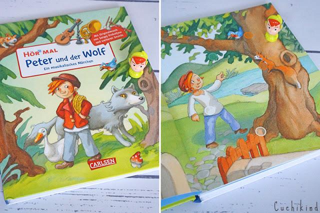 Peter und der Wolf Kinderbuch