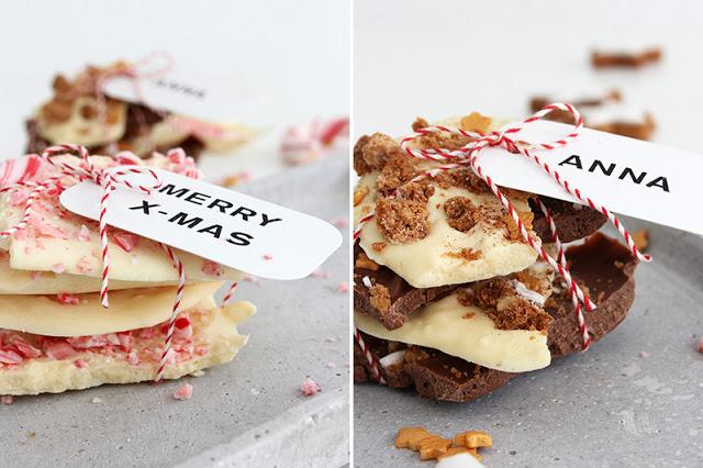 Weihnachtsgeschenkidee Schokolade