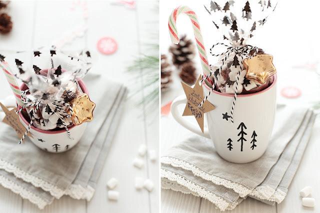 Schokolade im Becher