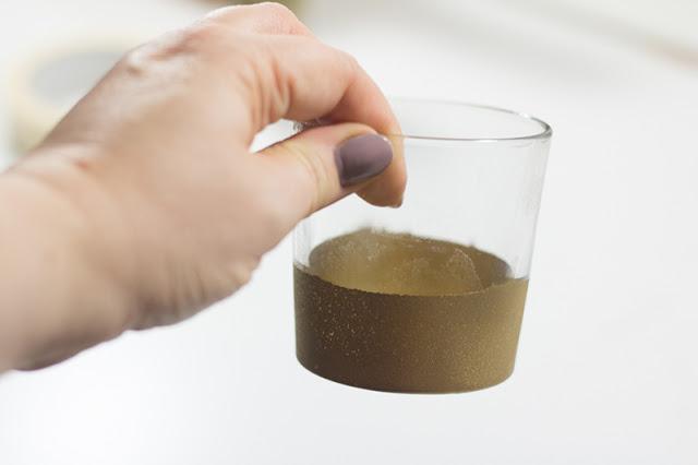 DIY Teelichtglas
