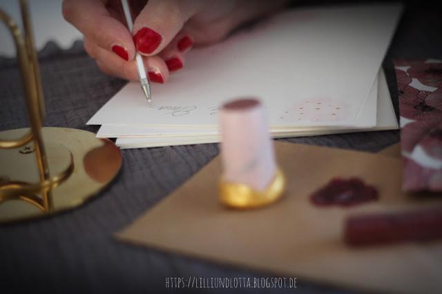 Briefe mit Siegelstempel