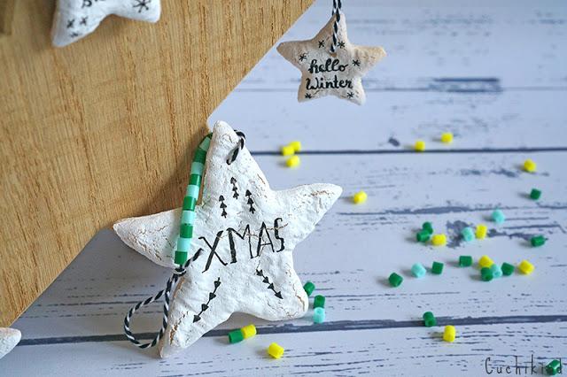 Weihnachtsgeschenk aus Salzteig