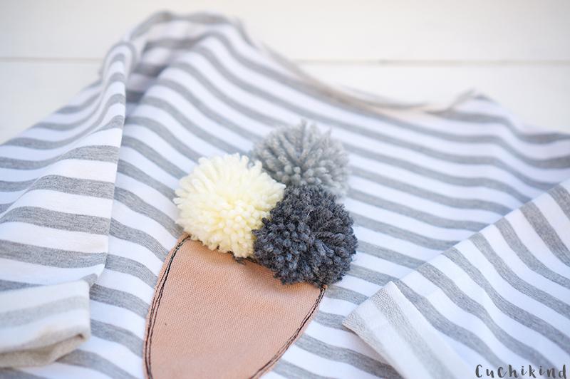 shirt mit pompons