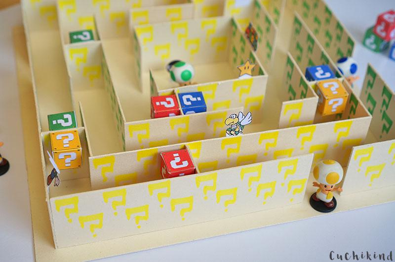 Nintendo labyrinth bauen