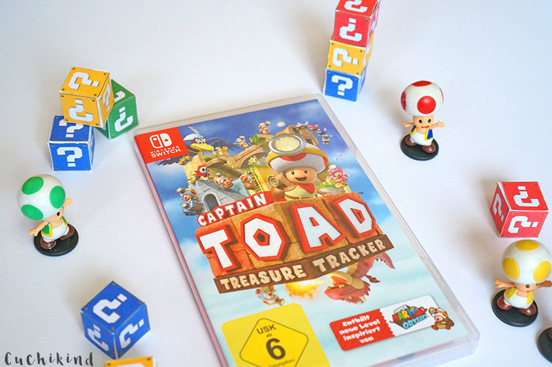 Captain toad treasure tracker spiel