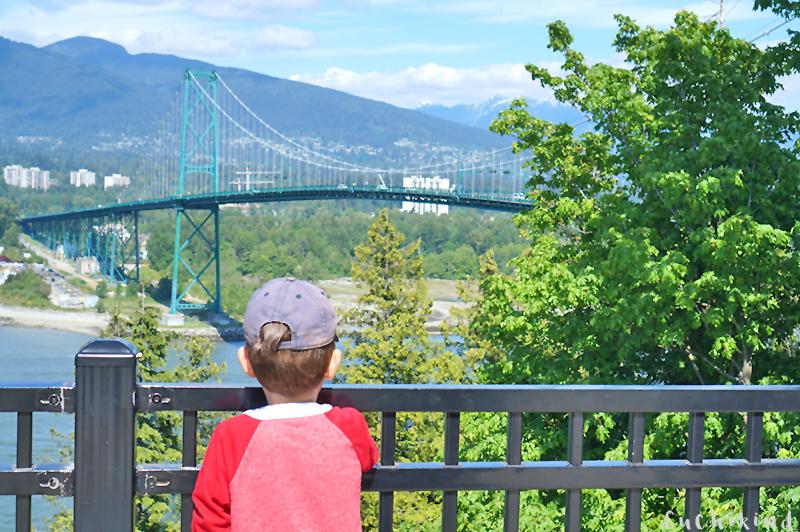 reisen mit Kindern Vancouver