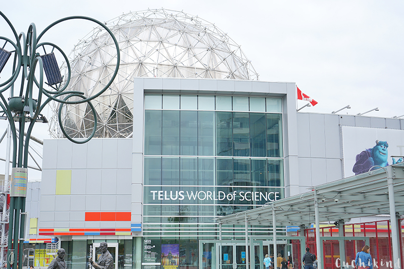 world of science Vancouver