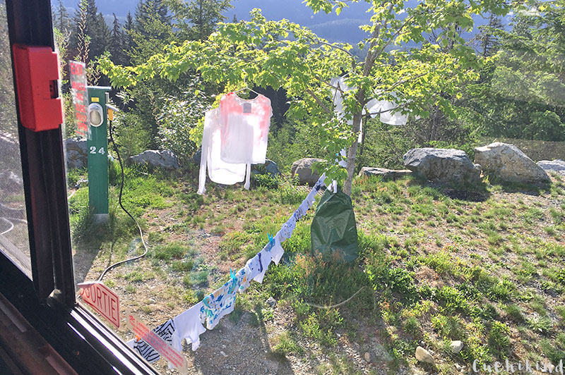 Campingplatz in Whistler