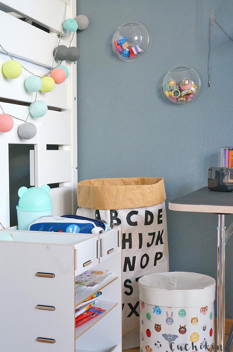 Kinderzimmer Arbeitsecke