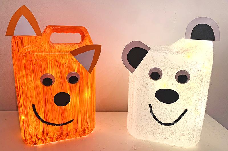 lustige tierlampen