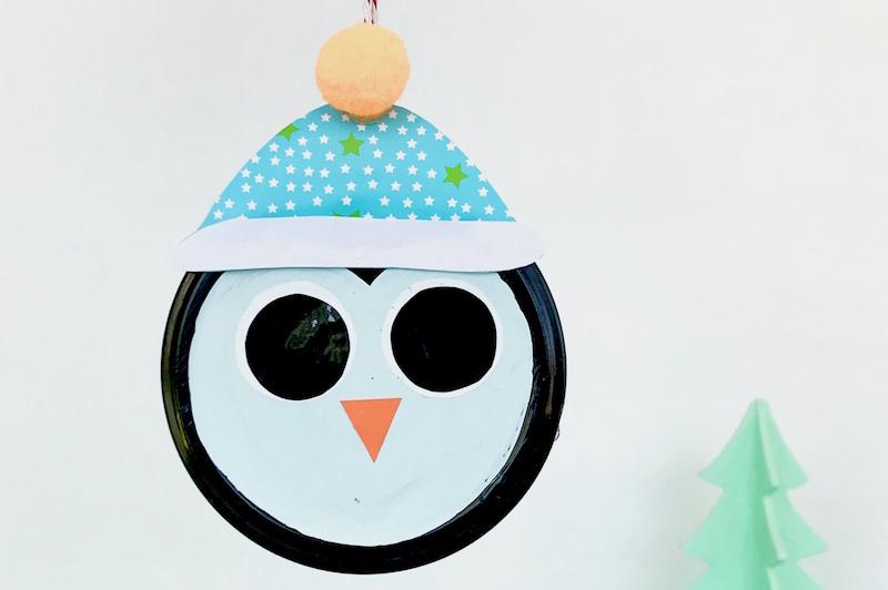 Weihnachtsbaumanhänger pinguin