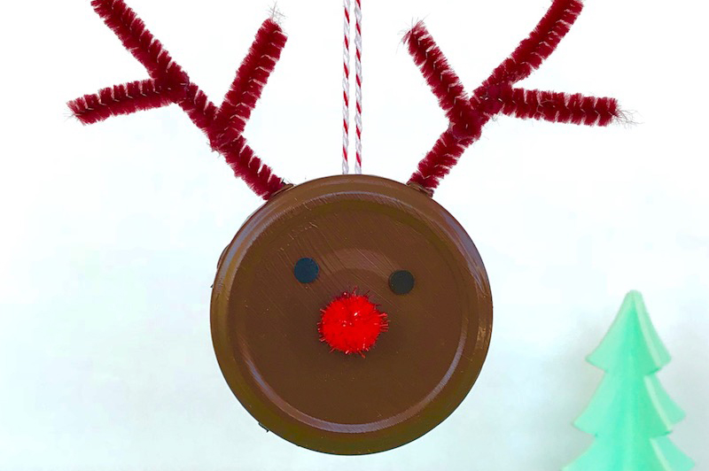 Rentier Weihnachtsbaum