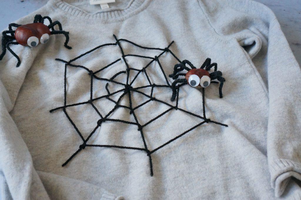 Kostüm_spinnennetz